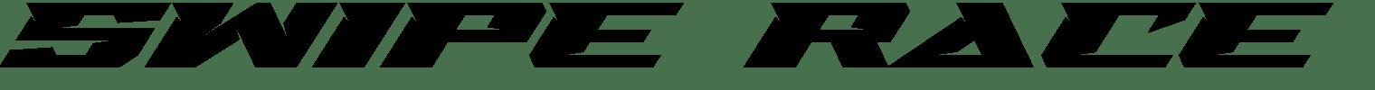 Swipe Race Display Font