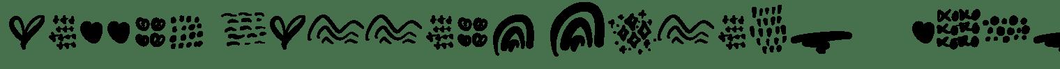 Eiffal Merrias Script    Font