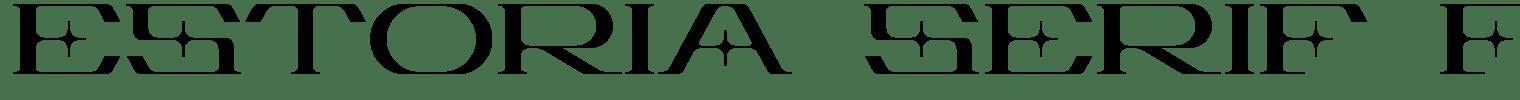 Estoria Serif Font