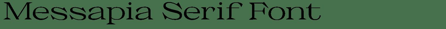 Messapia Serif Font