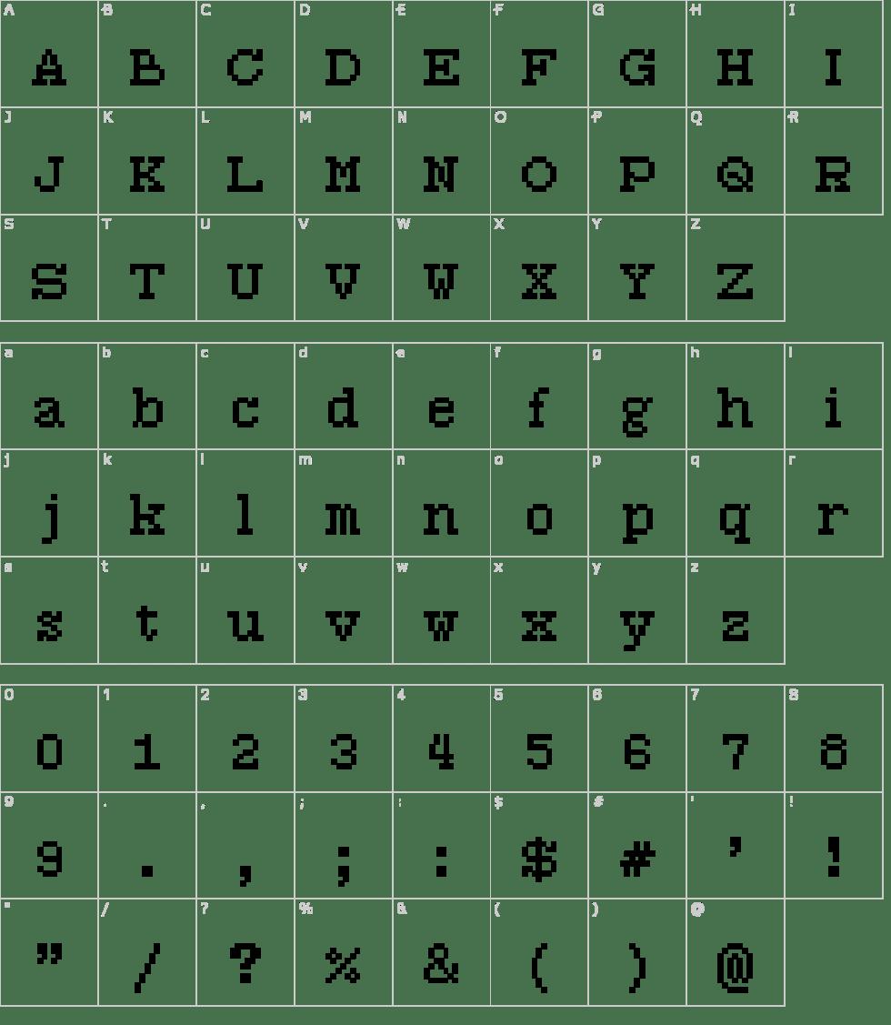 7:12 Serif Font