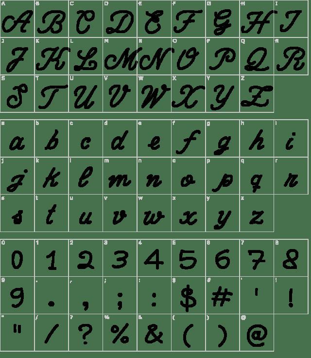 Schriftart Write Righ Script - Download