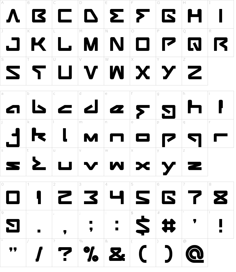 Download Android Robot Font Download