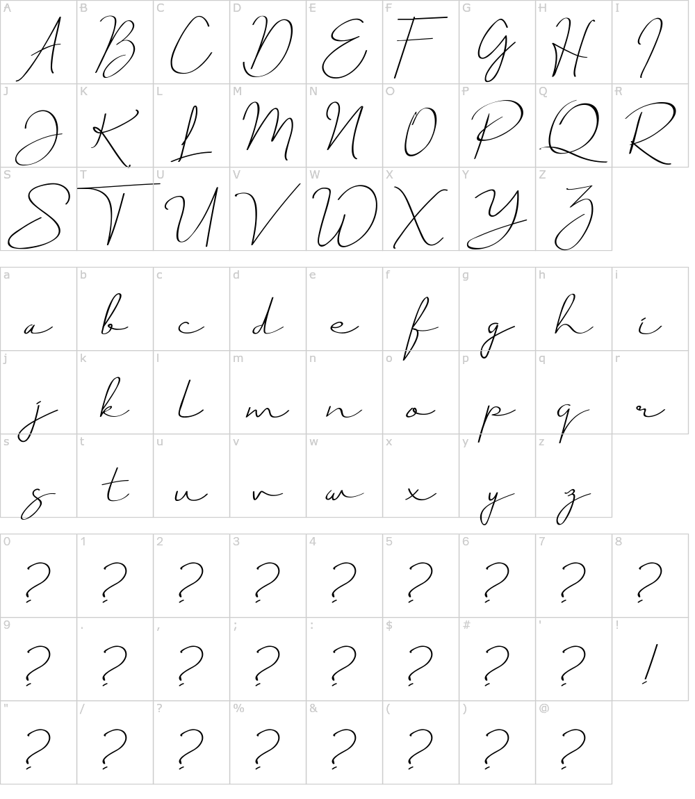Download Just Signature Font Download