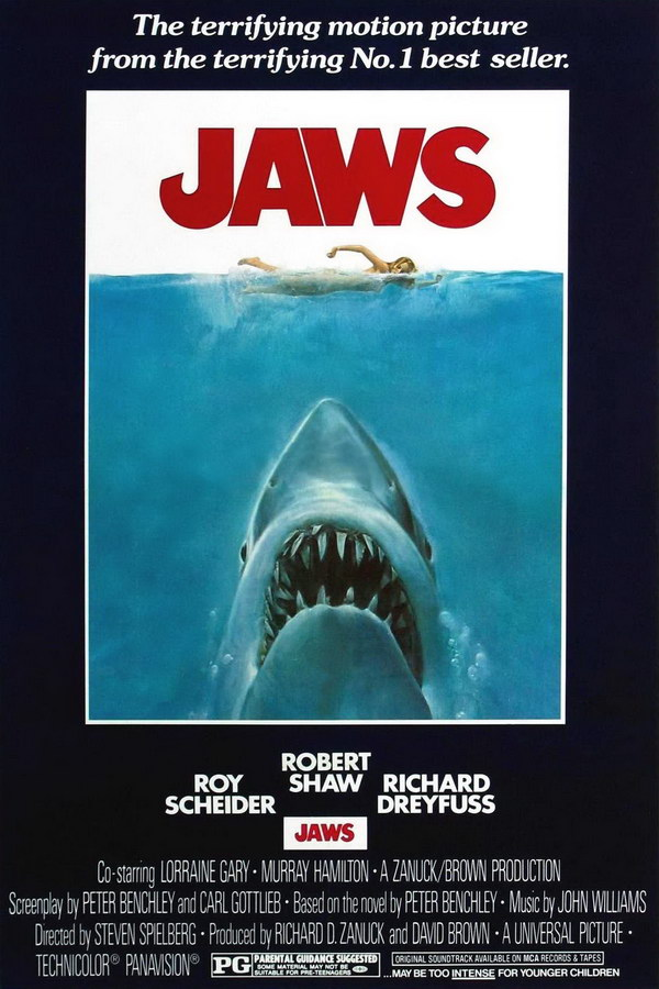 Image result for jaws poster