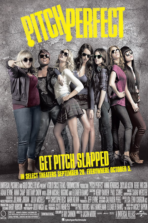 Image result for pitch perfect  poster