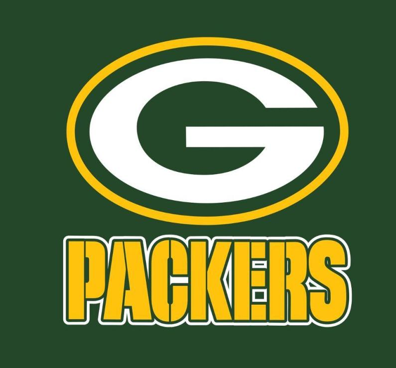 Green Bay Packers Printable