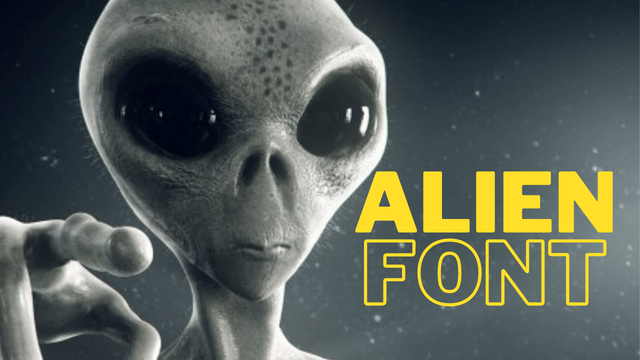 Read more about the article Alien Text Font Generator