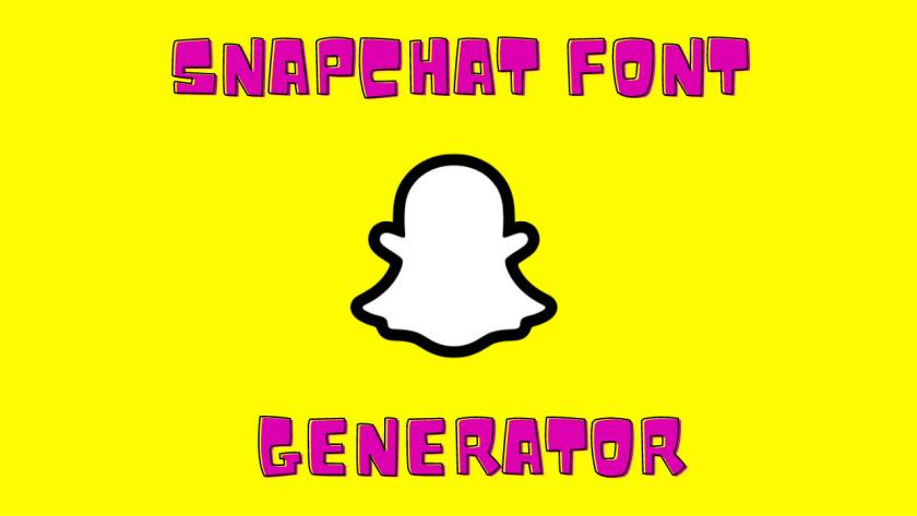 Snapchat Font Generator