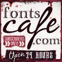 cool fonts and more! fontscafe.com