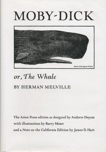 Portada de Moby Dick