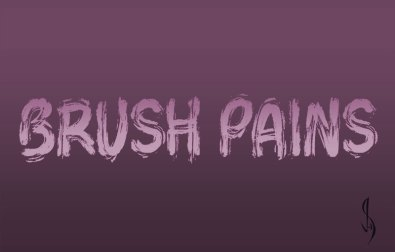 brush-pains
