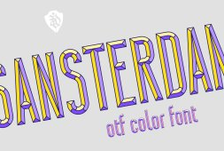 sansterdam-color-font