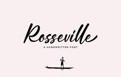 rosseville-free-font