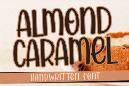 almond-caramel
