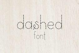 dashed