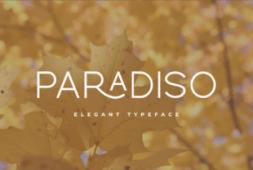 paradiso-font