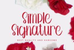 simple-signature-font