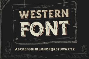 western-font