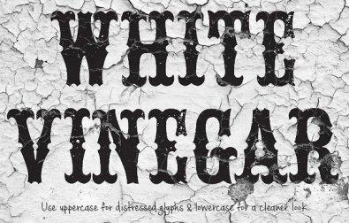 white-vinegar-font