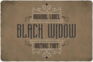 black-widow-font