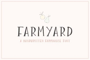 farmyard-font