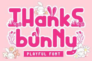 thanks-bunny-font