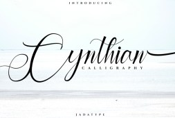 cynthian-font