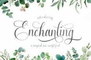enchanting-script-font