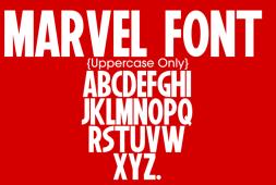 marvel-font