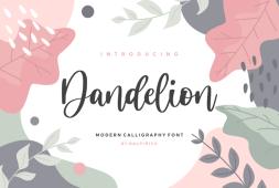 dandelion-font