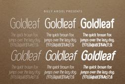 goldleaf-font
