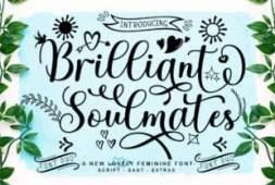 brilliant-soulmates-font