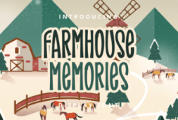 farmhouse-memories-font