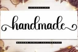 handmade-font