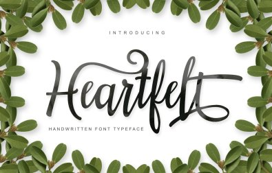 heartfelt-font