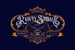 rusty-store-font