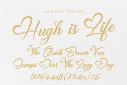hugh-is-life-font