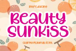 beauty-sunkiss-font
