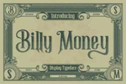 billy-money-font