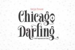 chicago-darling-font