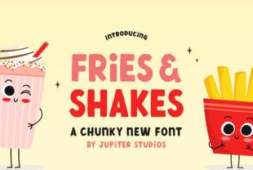 fries-and-shake-font