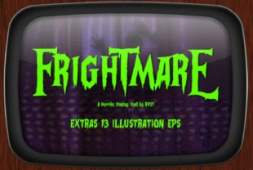 frightmare-font