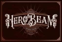 hero-beam-font