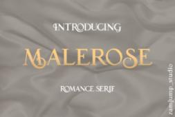 malerose-font