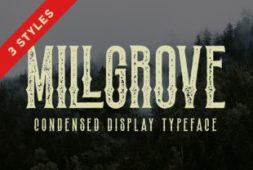 millgrove-font