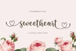 sweetheart-font