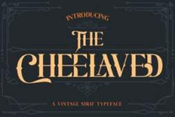 the-cheelaved-font