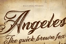 angeles-rough-font