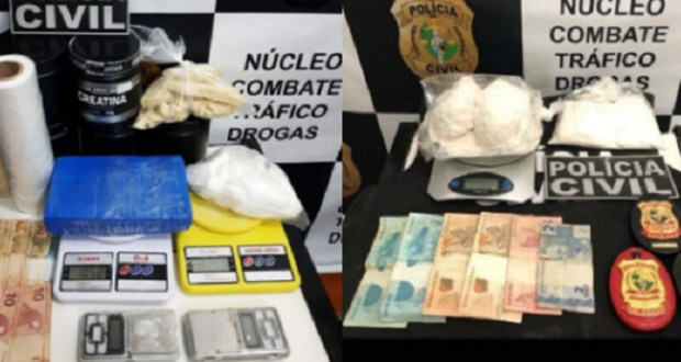 Casal suspeito de tráfico de drogas é preso após operação policial em Juazeiro do Norte